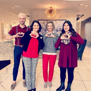 Sending some Valentine's Day love from our newest High 5 team, @mosbycoolsprings! #high5living #creatingexceptionallivingexperiences