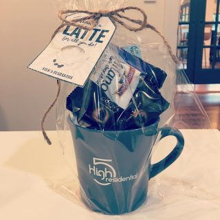 """Well, it's Day 4 of High 5's Team Member Appreciation Week and today we said """"Thanks a LATTE for all you do!"""" Team @grand.oak.town.park also enjoyed their team lunch today @cheddarskitchen , thanks to The Law Office of Jennifer McCoy! #teamappreciation #wholelattelove ❤️"""