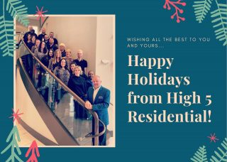 Warmest of Season's Greetings from the High 5 team! @paxtoncoolsprings @grand.oak.town.park @copperfieldapartmenthomes