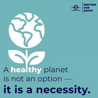 #RestoreOurEarth #EarthDay #earthdayeveryday