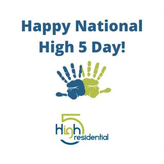 Happy #NH5D! On this holiday that's all about giving high fives and spreading good vibes, here's a virtual high five from us to you! #TeamHigh5 #High5Life