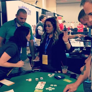 Team @paxtoncoolsprings enjoyed playing poker in the @servpro booth at the @gnaatn trade show last night! It was great seeing everyone! #gnaatradeshow #gnaatradeshow2020