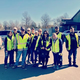 Members of the High 5 team, family, and friends headed out on Saturday to assist @vistagermantown staff and residents. #nashvilletornado  #nashvillestrong